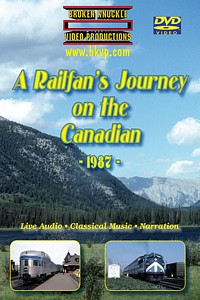 A Railfans Journey on the Canadian 1987 2-DVD Set