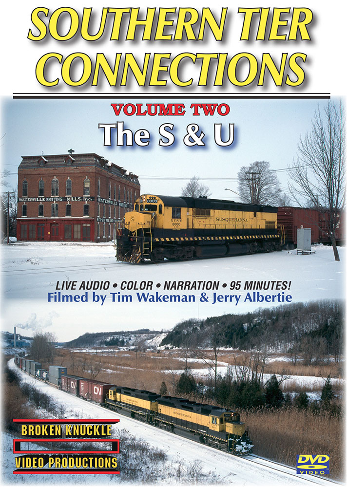 Southern Tier Connections Volume 2 The S & U DVD Broken Knuckle Video Productions STC-2