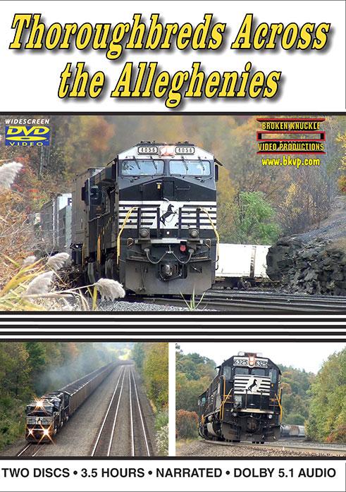 Thoroughbreds Across the Alleghenies 3.5 Hours!  DVD Broken Knuckle Video Productions BKTATA-DVD
