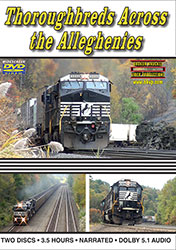 Thoroughbreds Across the Alleghenies 3.5 Hours!  DVD