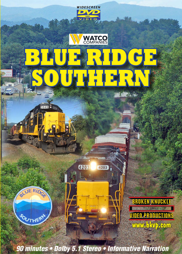 Blue Ridge Southern DVD Broken Knuckle Video Productions BKBRS-DVD