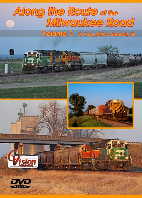 Along the Route of the Milwaukee Road DVD C Vision Train Video C Vision Productions ARM1