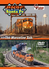 BNSF Along the Route of the Santa Fe Vol 6 Marceline Sub DVD