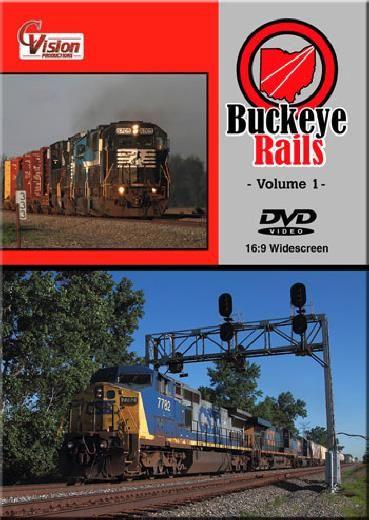 Buckeye Rails Vol 1 DVD Train Video C Vision Productions BR1DVD