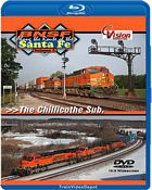 BNSF Along the Route of the Santa Fe Volume 5 The Chillicothe Sub BLU-RAY