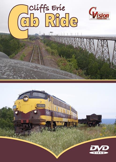 Cliffs Erie Cab Ride DVD C Vision Productions CEC