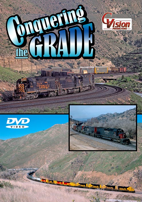 Conquering the Grade DVD Train Video C Vision Productions CTGDVD