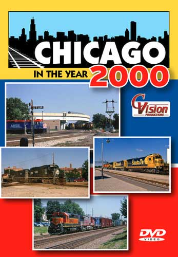 Chicago in the Year 2000 DVD Train Video C Vision Productions CY2K