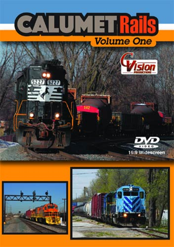Calumet Rails Volume 1 DVD C Vision Productions CALMET1DVD