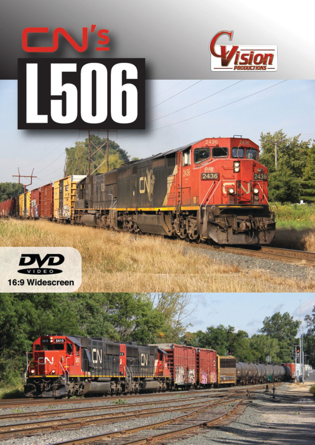 Canadian Nationals L506 - Withrow Sub DVD C Vision Productions L506D