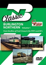 Classic Burlington Northern Volume 1 DVD