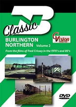 Classic Burlington Northern Volume 2 DVD