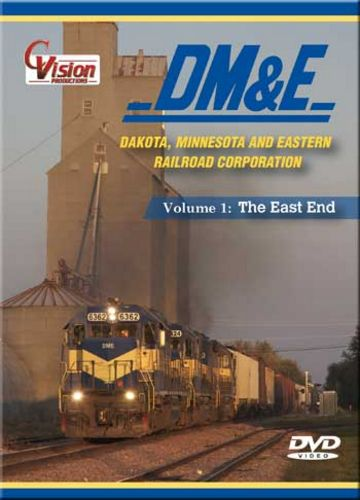 DM&E Dakota Minnesota and Eastern Railroad DVD Vol 1 Train Video C Vision Productions DME1