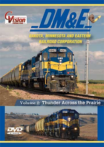 DM&E Dakota Minnesota and Eastern Railroad 2 DIsc DVD Vol 2 Train Video C Vision Productions DME2