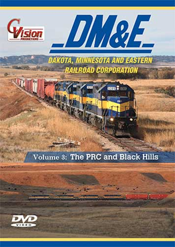 DME Dakota Minnesota and Eastern Vol 3  The PRC & Black Hills DVD Train Video C Vision Productions DME3