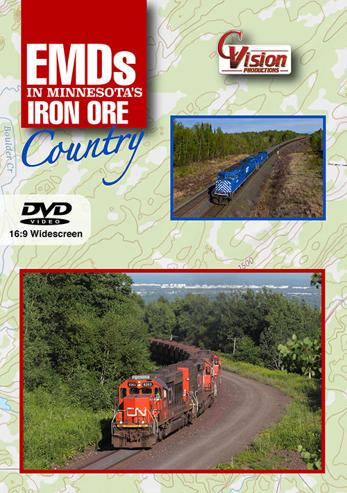 EMDs in Minnesotas Iron Ore Country DVD C Vision Productions EIR
