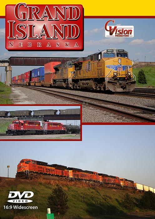 Grand Island Nebraska DVD Train Video C Vision Productions GINDVD