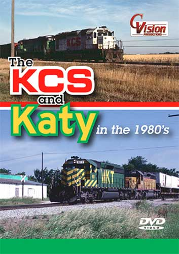 KCS and Katy in the 1980s DVD Train Video C Vision Productions KK80