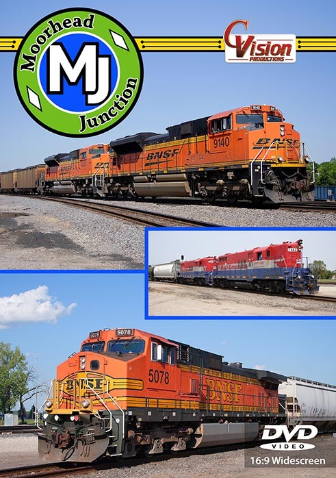 Moorhead Junction Minnesota DVD Train Video C Vision Productions MHDDVD