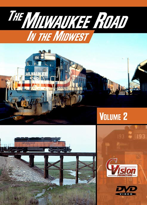 Milwaukee Road in the Midwest Vol 2 DVD Train Video C Vision Productions MLW2