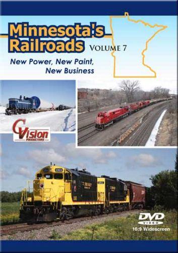 Minnesotas Railroads Volume 7 DVD C Vision Productions MR7DVD
