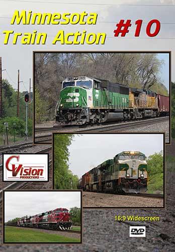 Minnesota Train Action 10 DVD C Vision Productions MTA10DVD