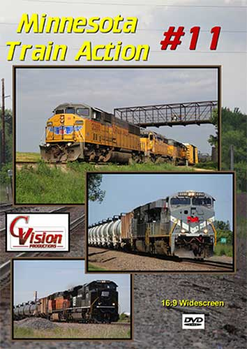 Minnesota Train Action 11 DVD C Vision Productions MTA11DVD