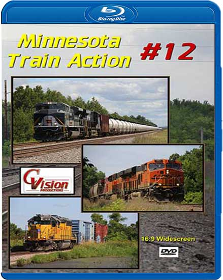 Minnesota Train Action 12 BLU-RAY C Vision Productions MTA12BD