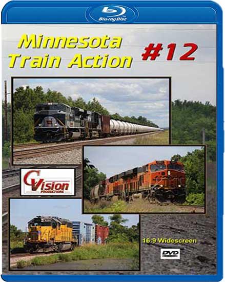 Minnesota Train Action 12 BLU-RAY C Vision Productions MTA12BD