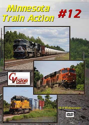 Minnesota Train Action 12 DVD C Vision Productions MTA12DVD