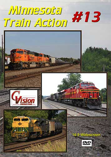 Minnesota Train Action Volume 13 DVD C Vision Productions MTA13DVD