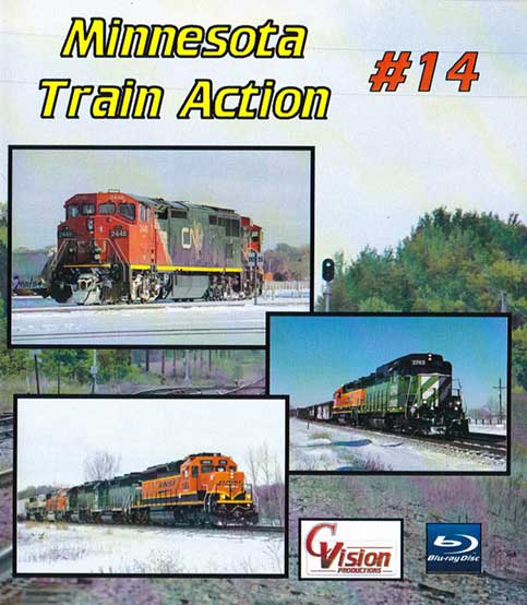 Minnesota Train Action Number 14 DVD C Vision Productions MTA14DVD