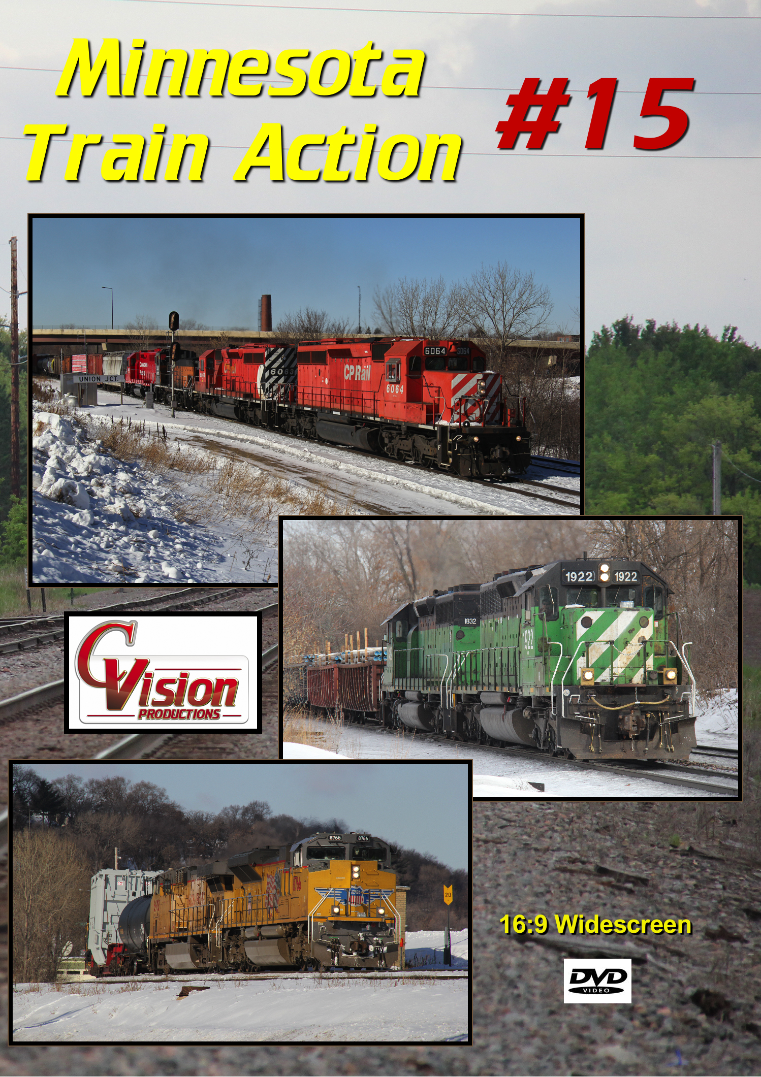 Minnesota Train Action Number 15 DVD C Vision Productions MTA15DVD