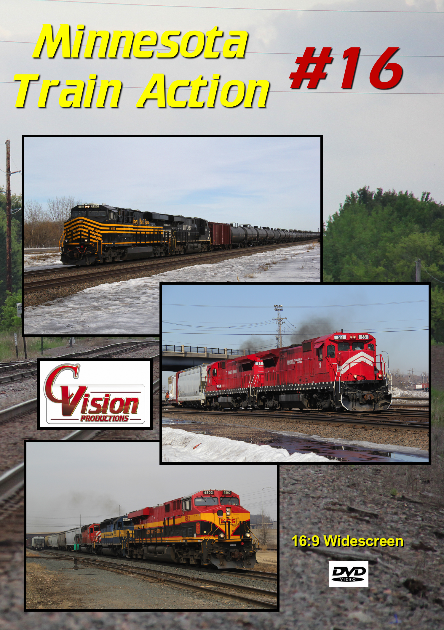Minnesota Train Action Number 16 DVD C Vision Productions MTA16DVD