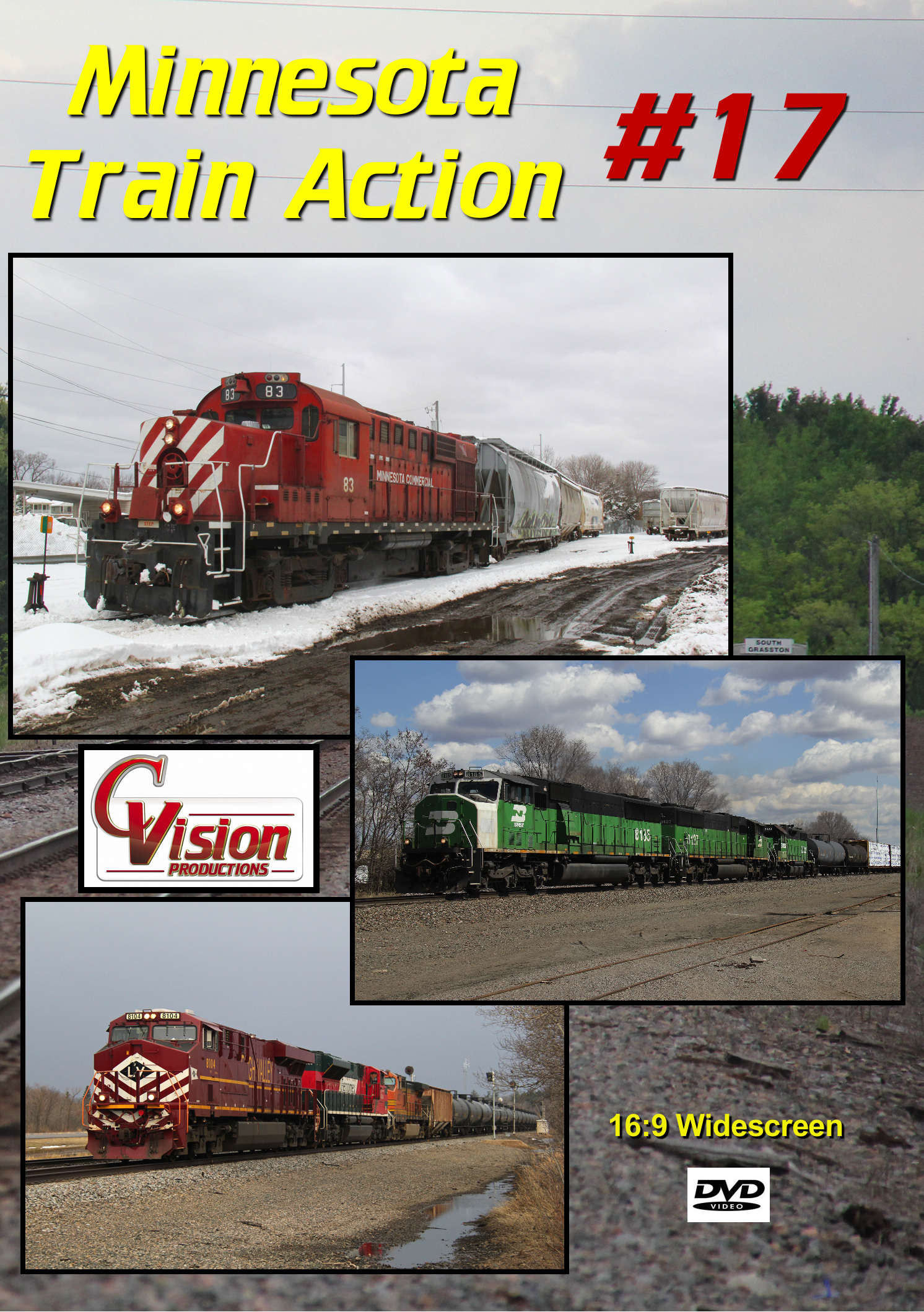 Minnesota Train Action Number 17 DVD C Vision Productions MTA17DVD