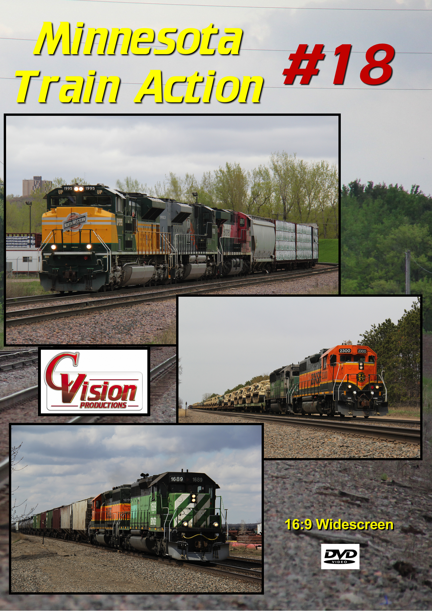 Minnesota Train Action Number 18 DVD C Vision Productions MTA18DVD