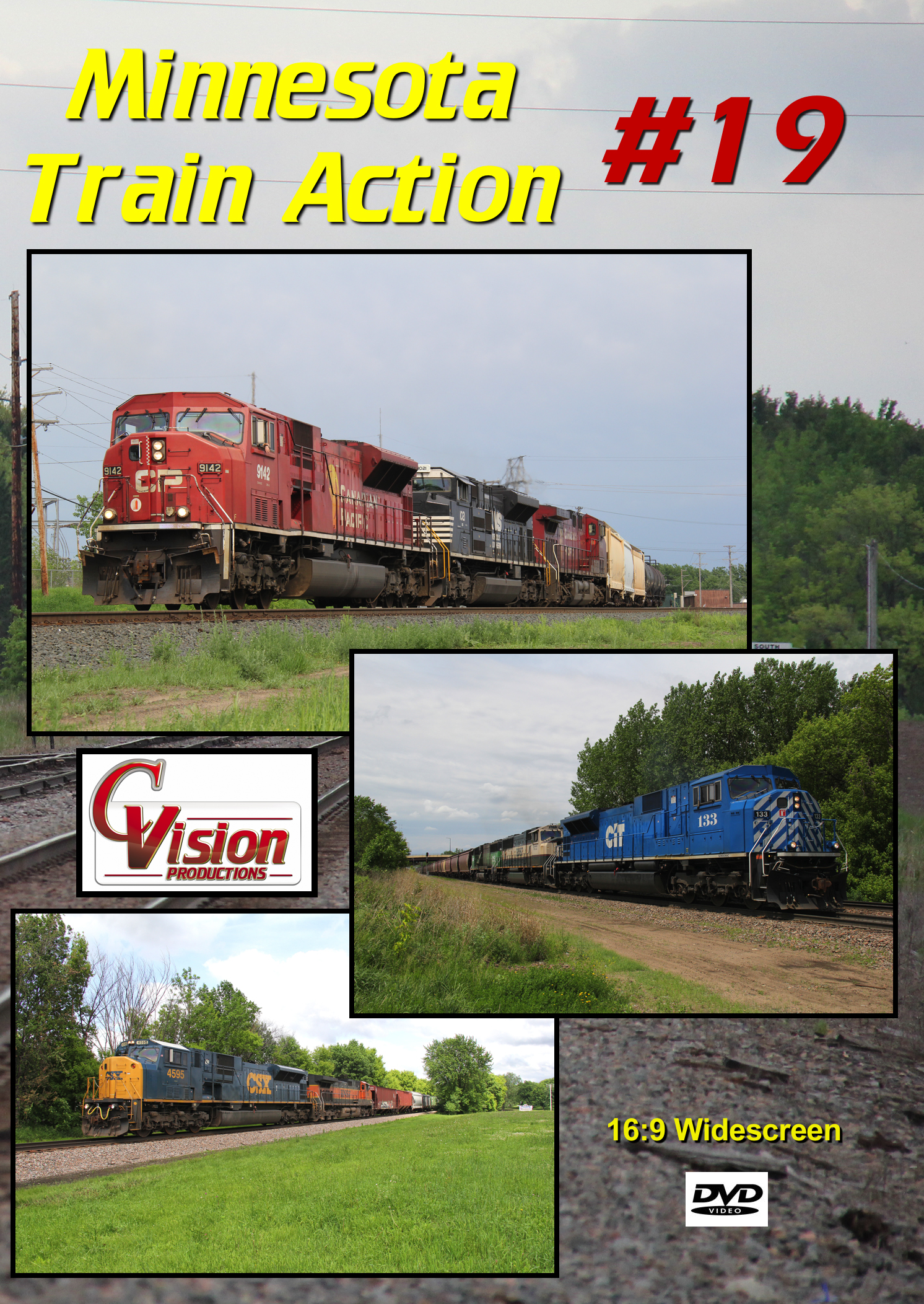 Minnesota Train Action Number 19 DVD C Vision Productions MTA19DVD