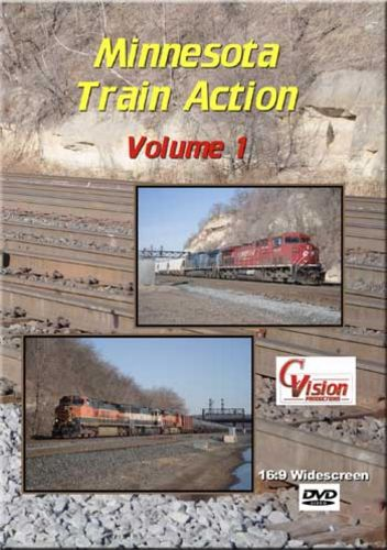 Minnesota Train Action  1 DVD C Vision Productions MTA1DVD