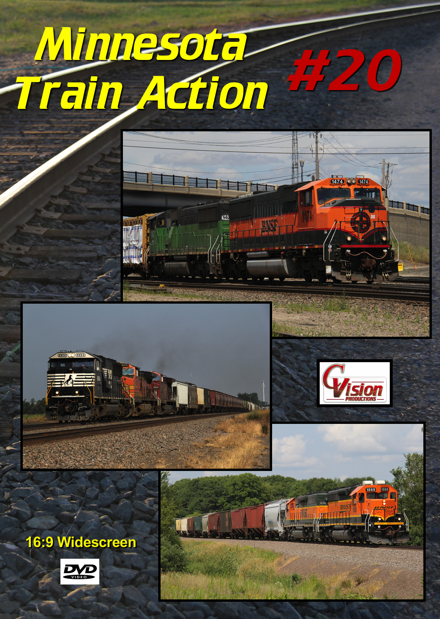 Minnesota Train Action Number 20 DVD C Vision Productions MTA20DVD