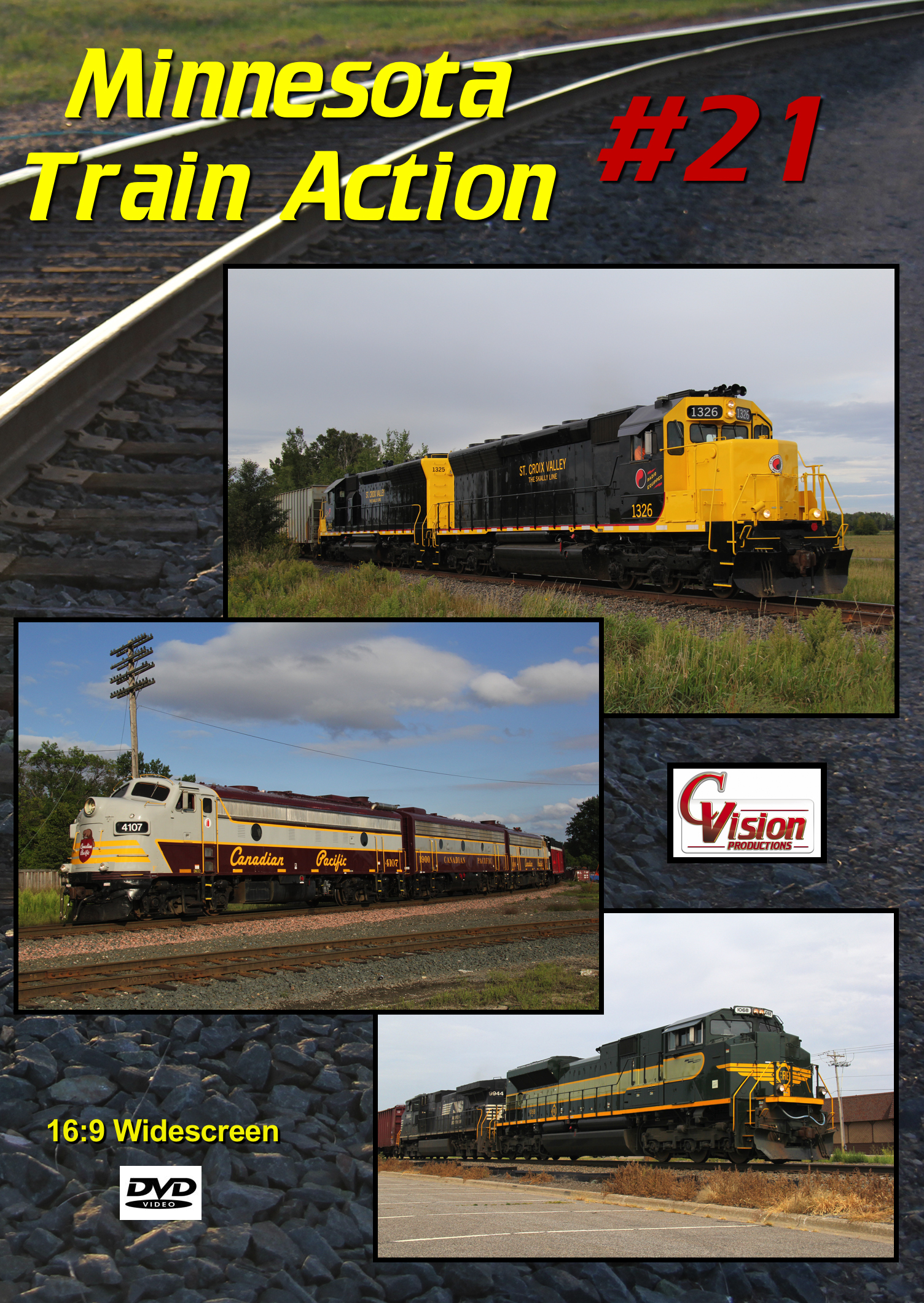 Minnesota Train Action Number 21 DVD C Vision Productions MTA21DVD