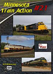 Minnesota Train Action Number 21 DVD