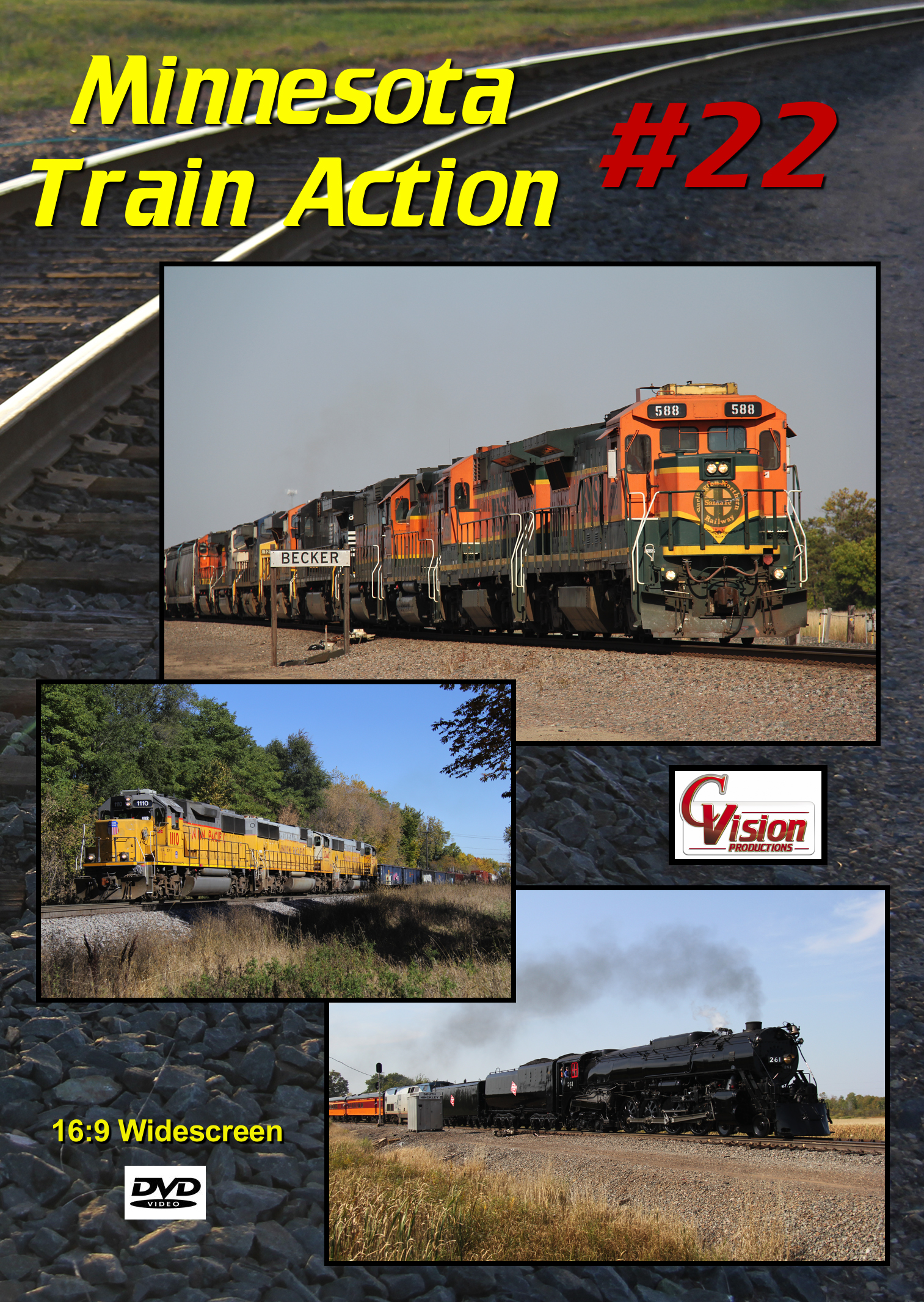Minnesota Train Action Number 22 DVD C Vision Productions MTA22DVD