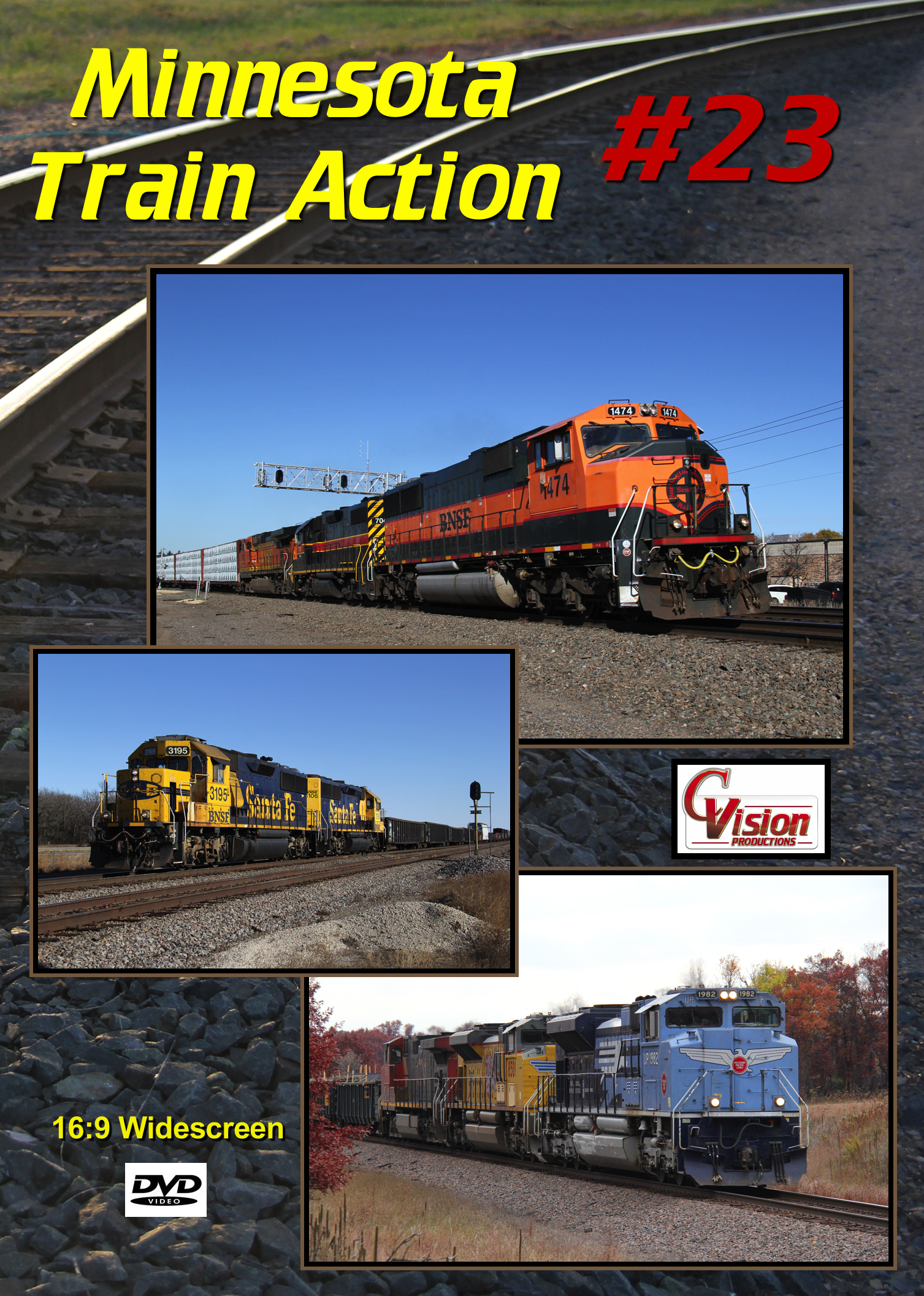 Minnesota Train Action Number 23 DVD C Vision Productions MTA23DVD