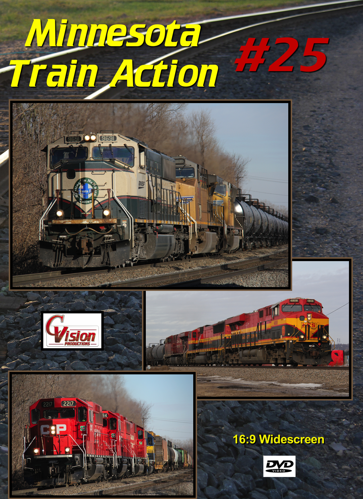 Minnesota Train Action Number 25 DVD C Vision Productions MTA25DVD