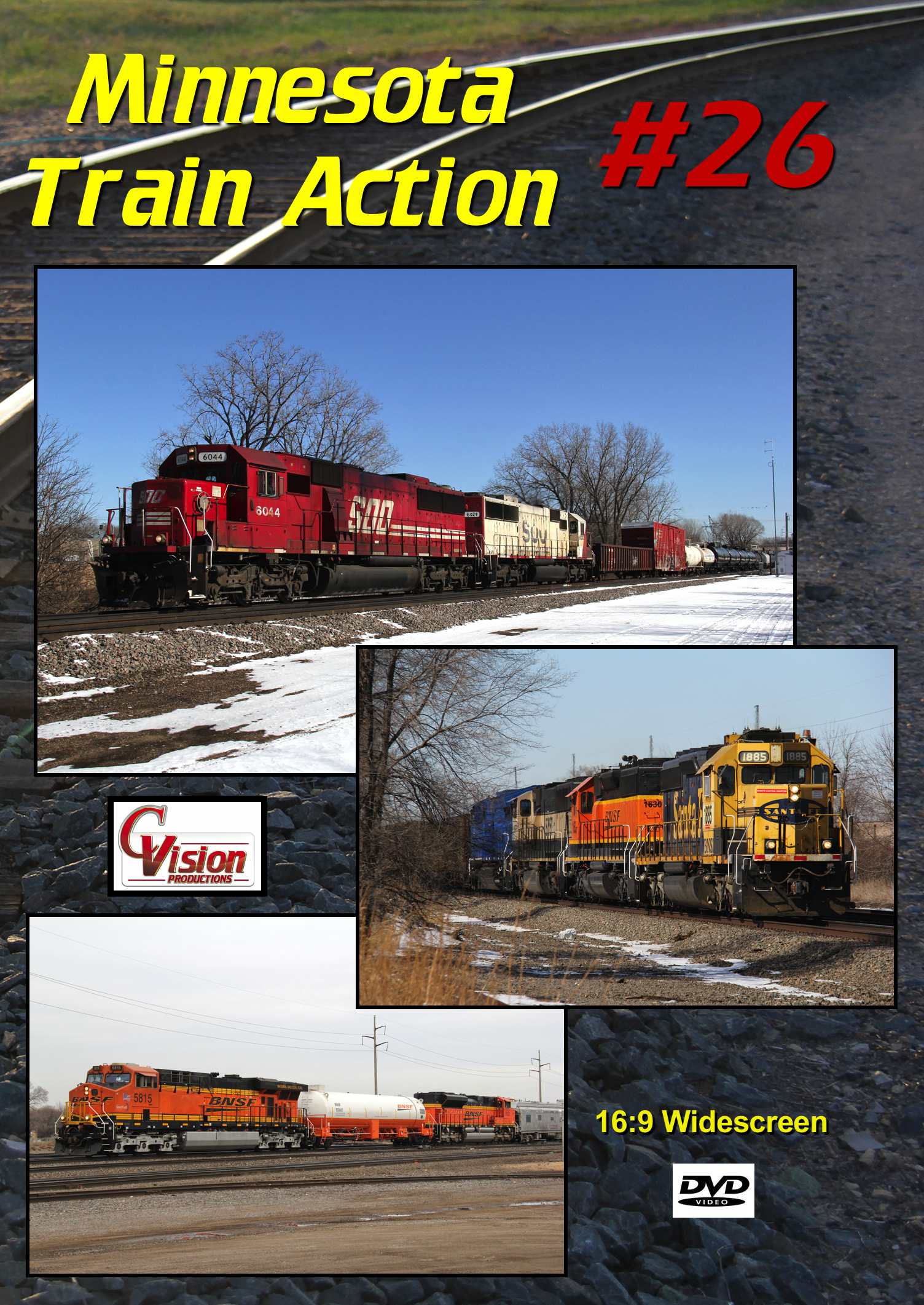 Minnesota Train Action Number 26 DVD C Vision Productions MTA26DVD