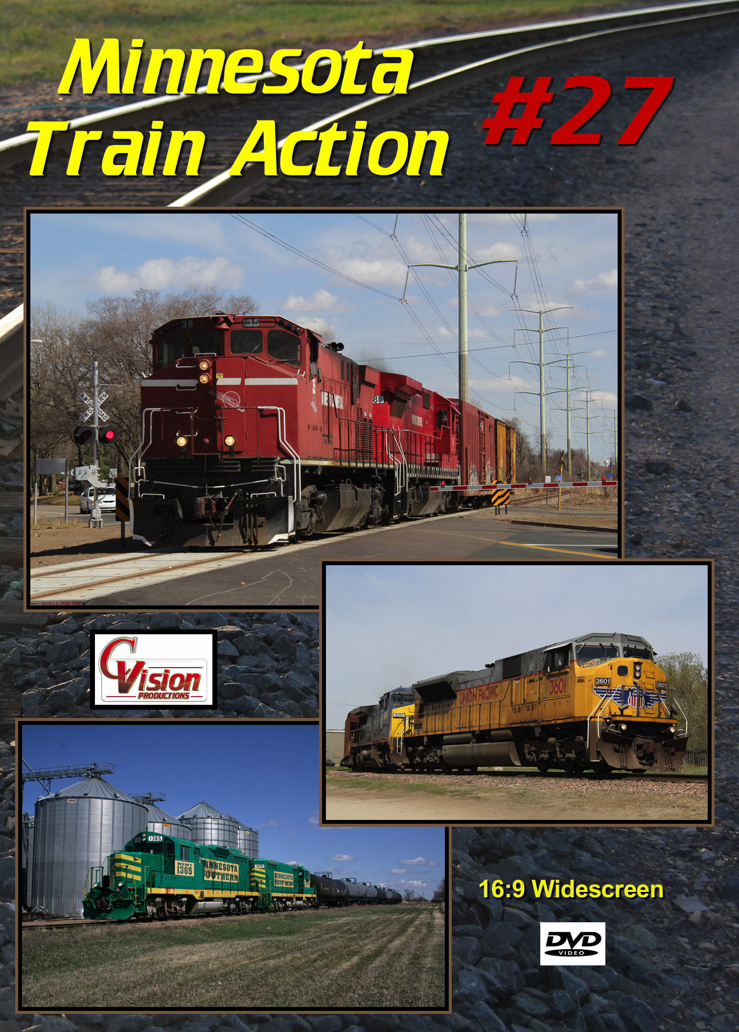 Minnesota Train Action Number 27 DVD C Vision Productions MTA27DVD