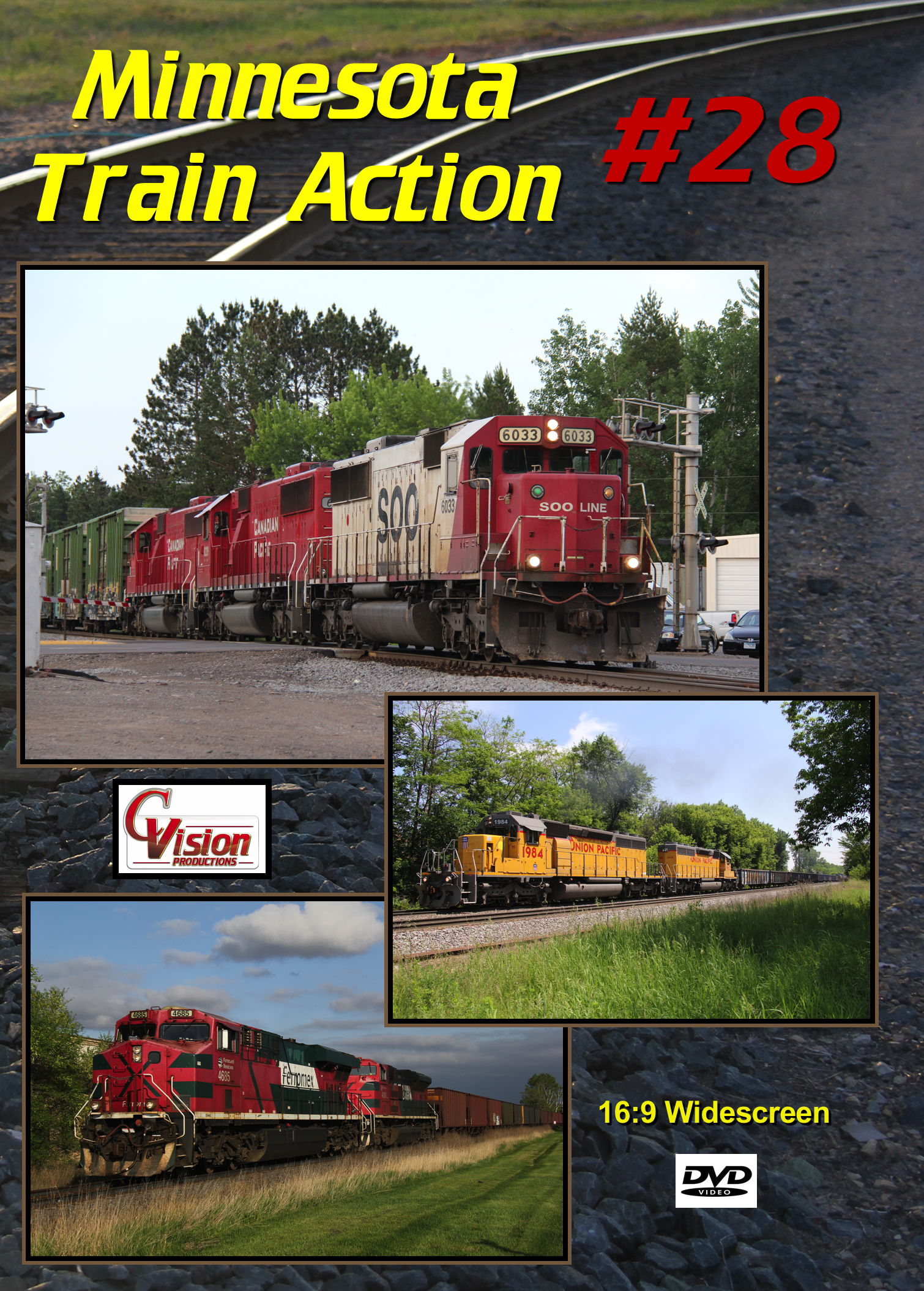 Minnesota Train Action Number 28 DVD C Vision Productions MTA28DVD
