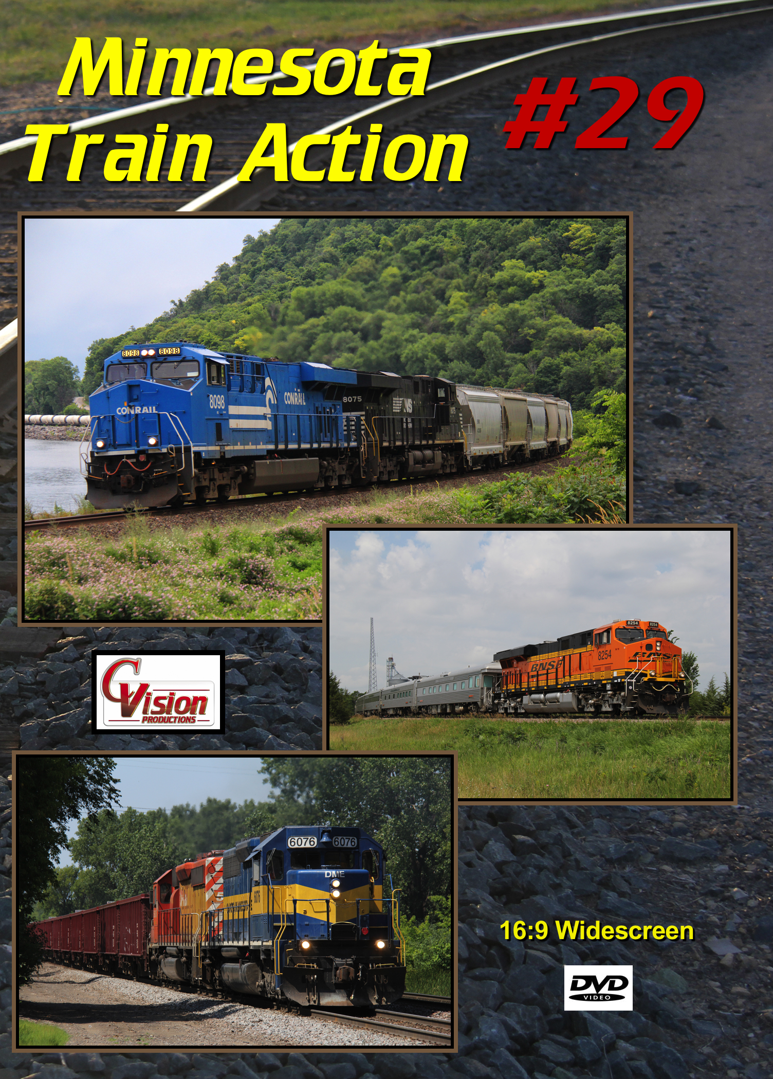Minnesota Train Action Number 29 DVD C Vision Productions MTA29DVD
