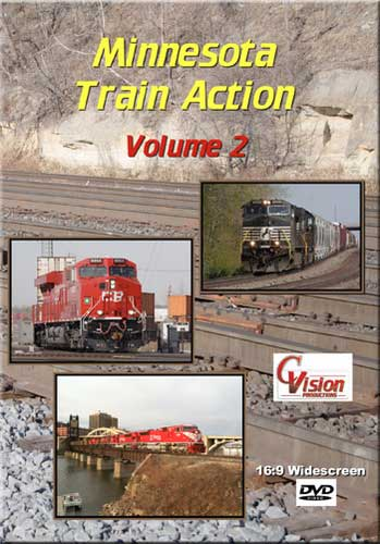 Minnesota Train Action 2 DVD C Vision Productions MTA2DVD