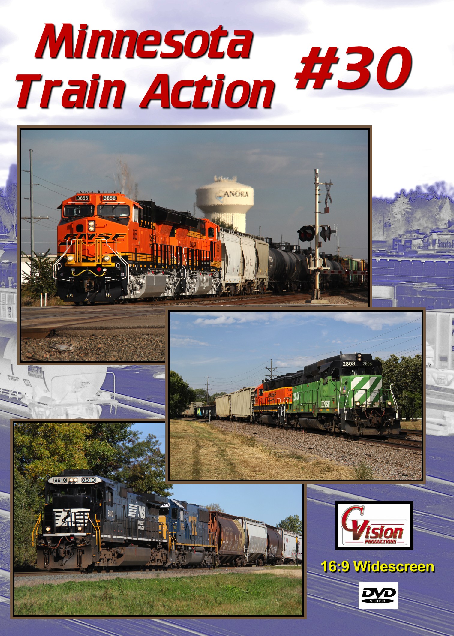 Minnesota Train Action Number 30 DVD C Vision Productions MTA30DVD